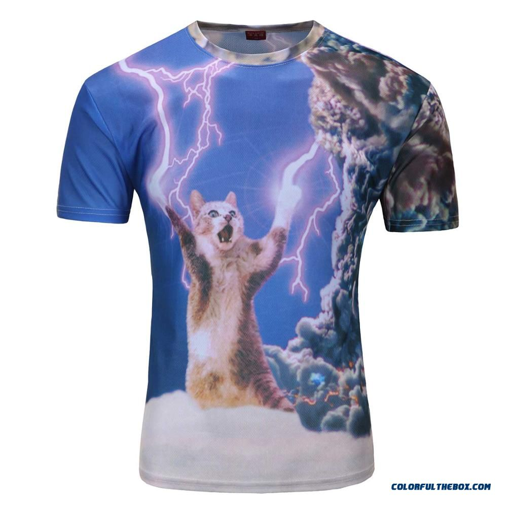 e13b2f4e8373 Cheap 2015 Men Fashion 3d Animal Creative T-shirt