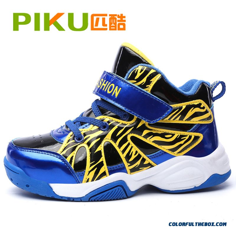 Autumn And Winter Cushioning Elastic Boys Basketball Shoes Youth Kids Sports Shoes