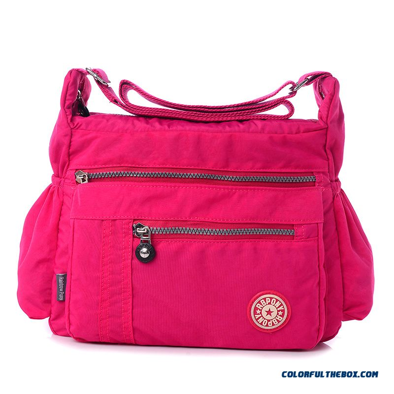 Autumn New Oxford Cloth Bags Large Capacity Crossbody Middle Aged Bag Special Offer