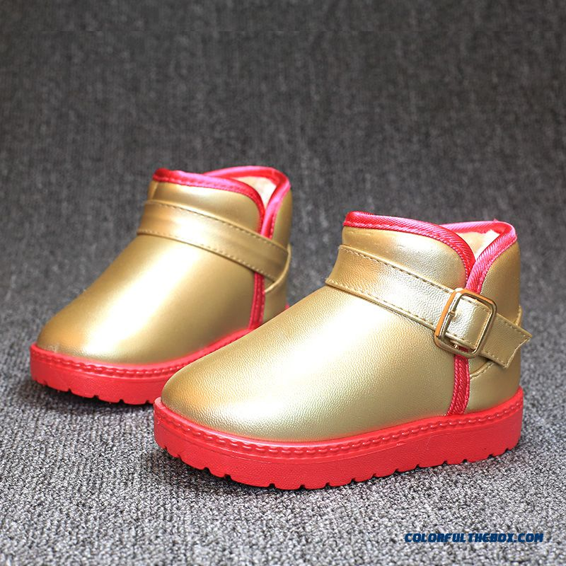 Cheap Baby Boots Waterproof Antiskid Shoes Free Shipping