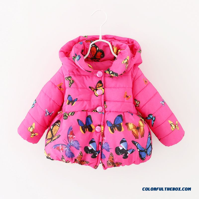 57f9a3793b5 ... Baby Girls Fall And Winter Clothing Thick Coat Cardigan Sweater Baby  Kids 0-1- ...