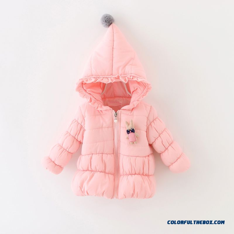 Cheap Baby Girls Fall And Winter Clothing Thick Coat