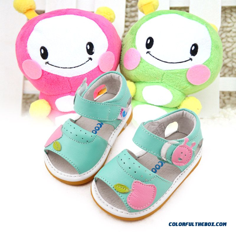 Candy-colored Girl Baby Shoes Princess Summer Sandals Breathable Kids Shoes