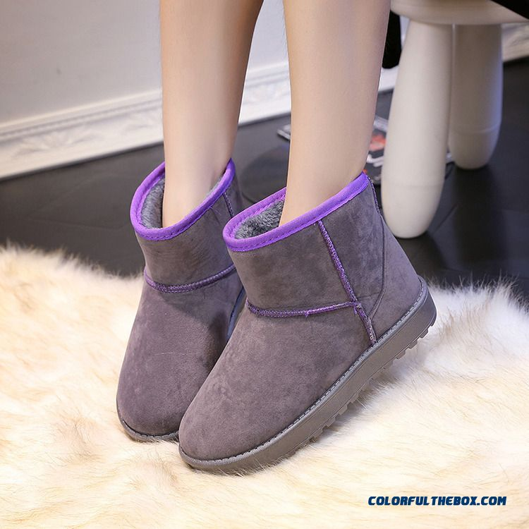 Cheap Candy colored Snow Boots Warm