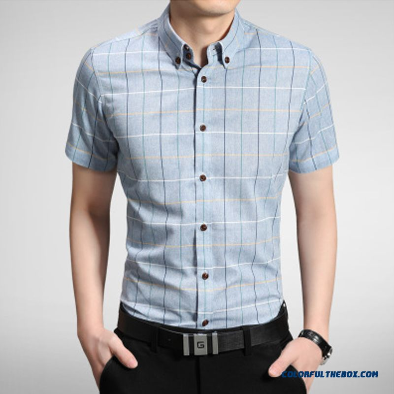 Cheap china supplier custom men 39 s summer casual plaid for Mens business shirts sale
