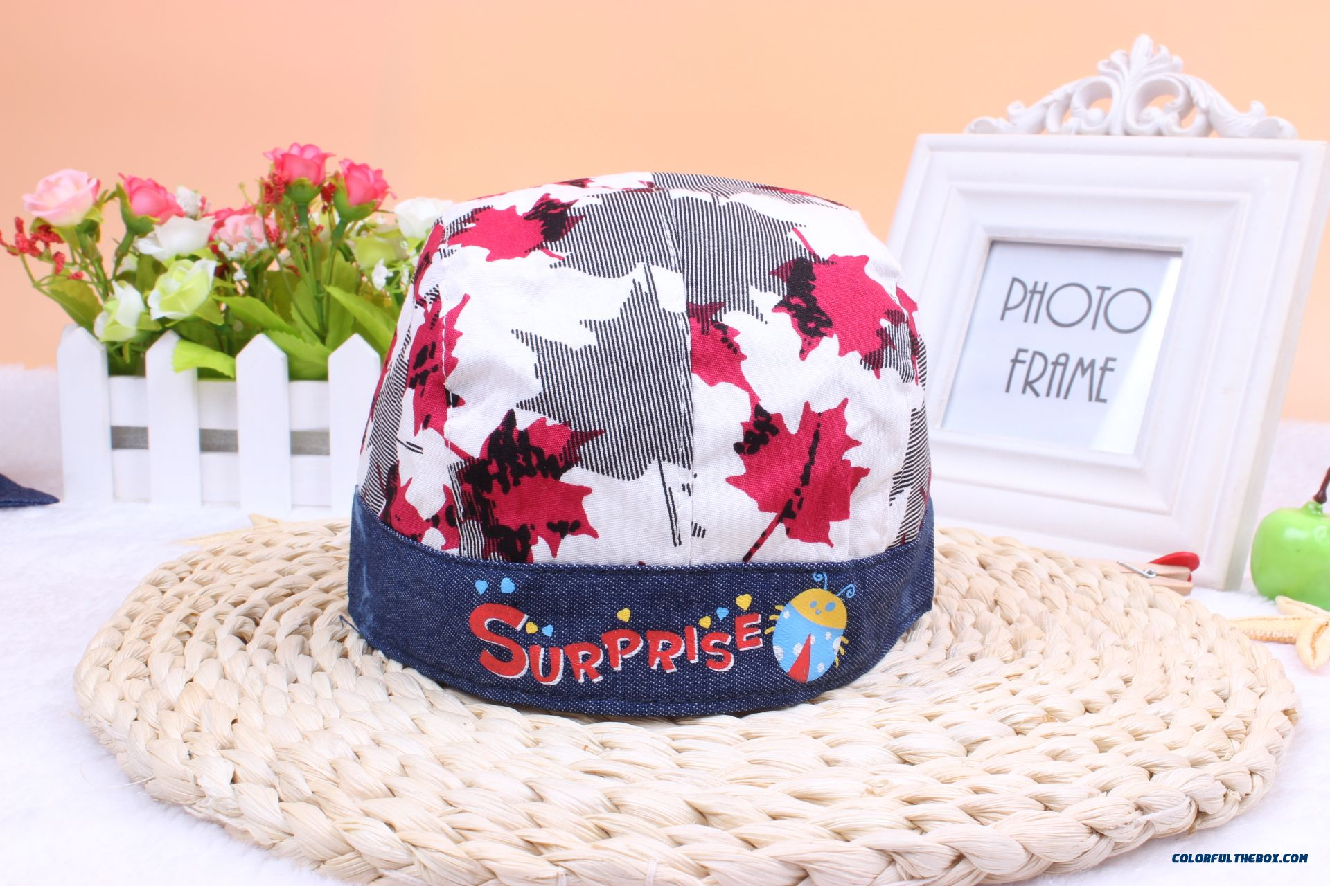 Cotton Baby Autumn And Winter Pirate Hat Kids 0-3-6 Months New Infant ... d46aa1a177b