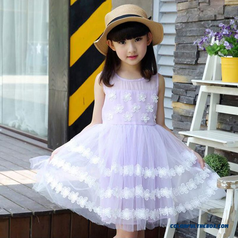 Cheap Counter Genuine Princess Dress Baby Dress Children