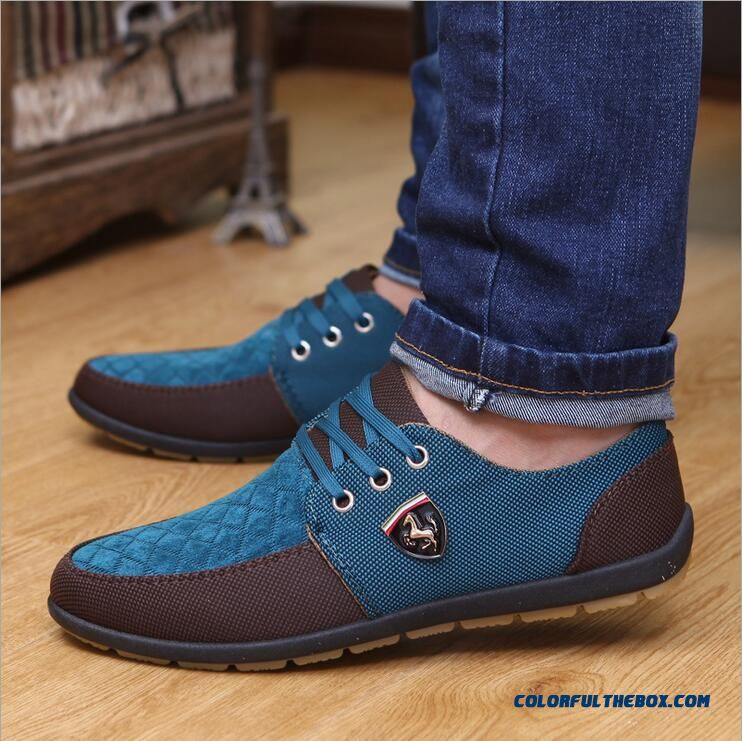 Cheap Discount De Hombre Mens Casual Shoes Mens Canvas ...