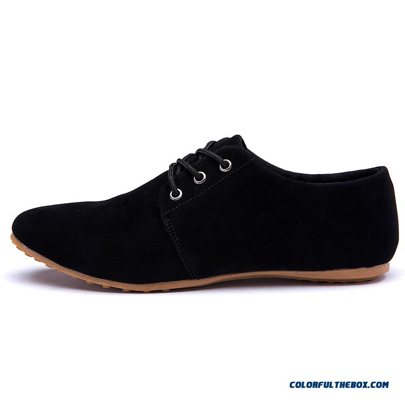 95509e6baea0 Discount Plus Size 6.5-12 Men Casual Shoes 2016 Spring Summer Breathable  Mens Suede Leather ...