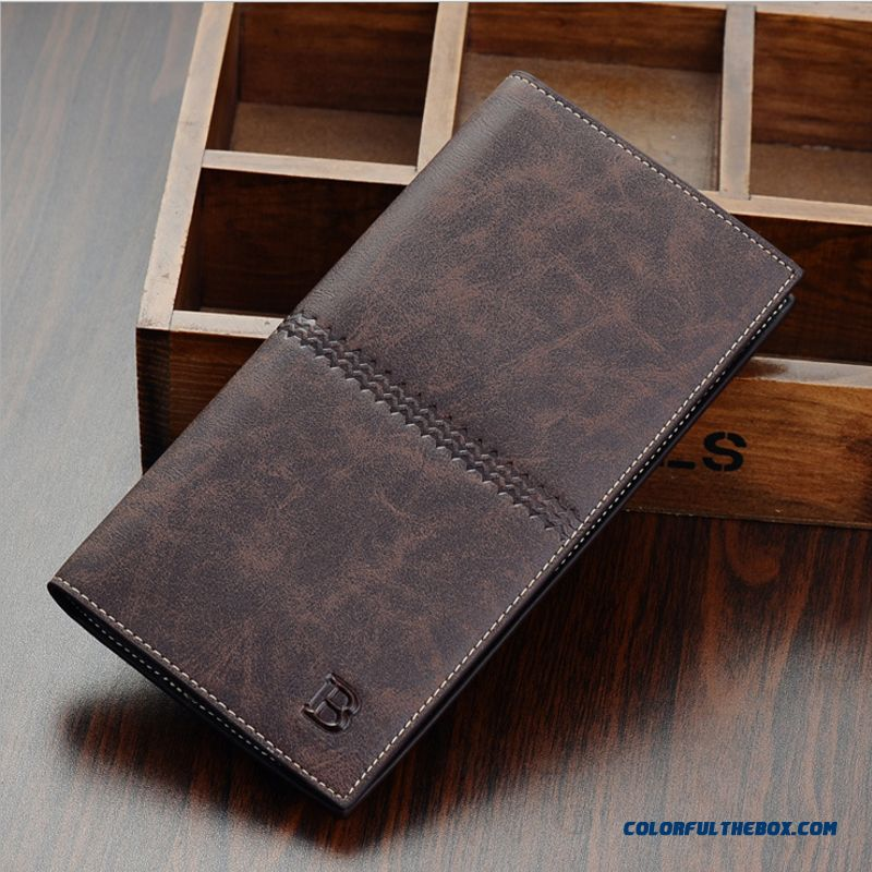 37d9ee1c05dce ... Europe Men Wallets Long Vertion Young Ultra-thin Wallet Casual Retro  Men Wallets Bags ...