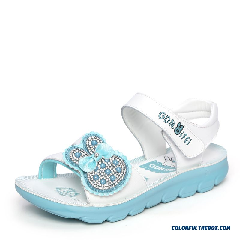 Cheap Exclusive Design Shoes Newest Open Toe Cowhide Girls ...