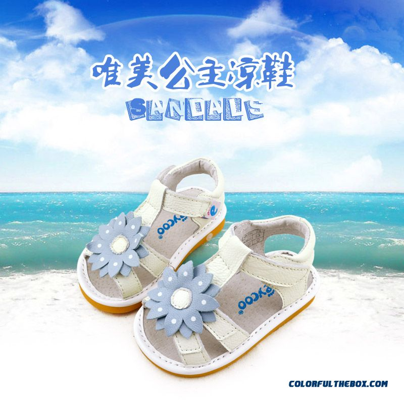 Fashion All-match Beautiful Baby Sandasl Shoes 1-2-3 Years Old Free Shipping Practical Design For Girls Kids