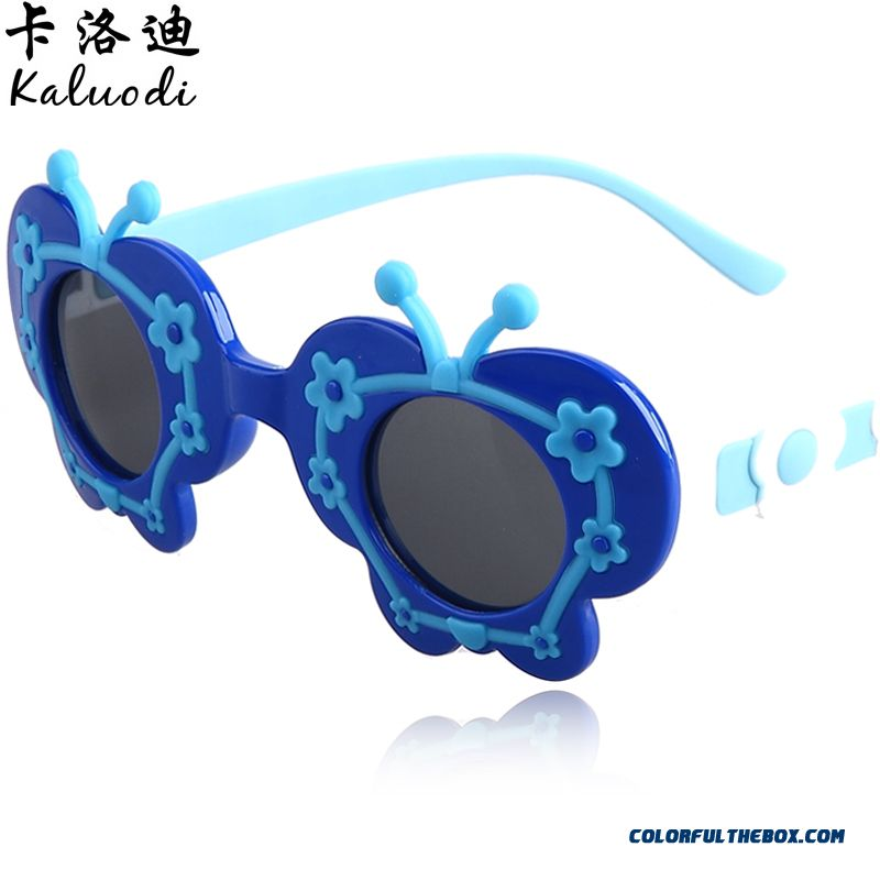 Children S Polarized Sunglasses  fashion erfly flower sunglasses boys and s