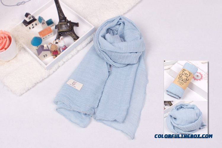 Free Shipping Factory Direct Sales Fall Accessories Babies Boys And Girls Kids Pure Cotton Neck Scarves