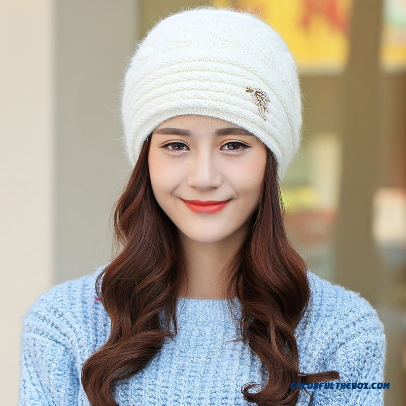 Free Shipping Women Accessories Double Ear Protection Warm Hat For The Elderly