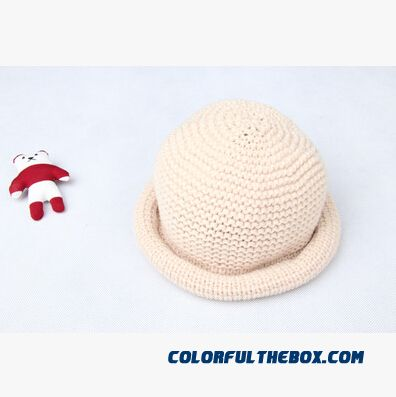 Cheap Girls And Boys Knit Hat 1-3-6 Year Old Baby Pots Hat Kids Fall ... 71e6e797095