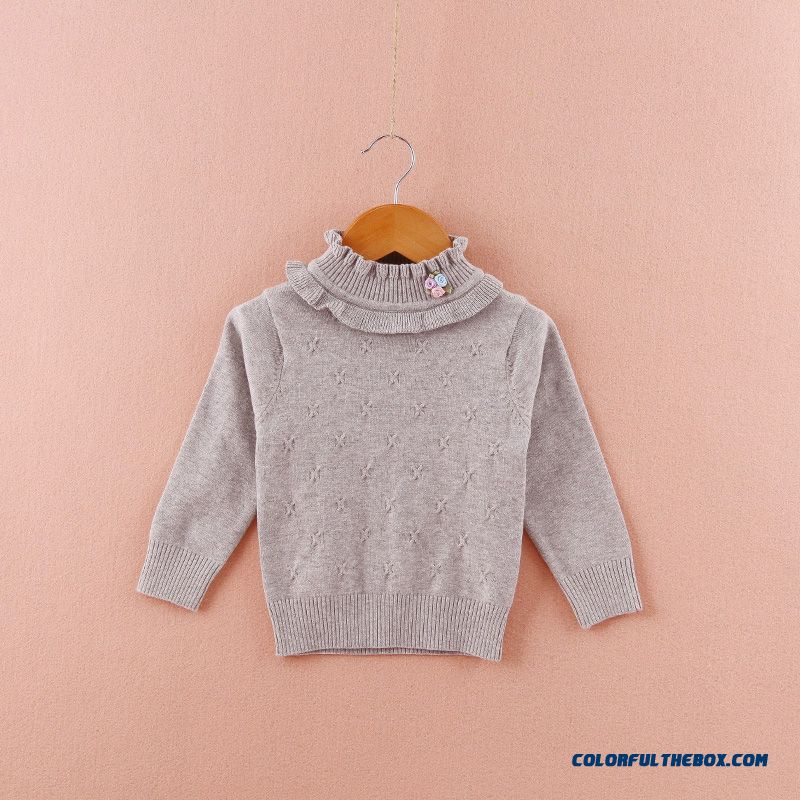 Cheap Girls In Autumn And Winter High Collar Sweaters Clothing ...