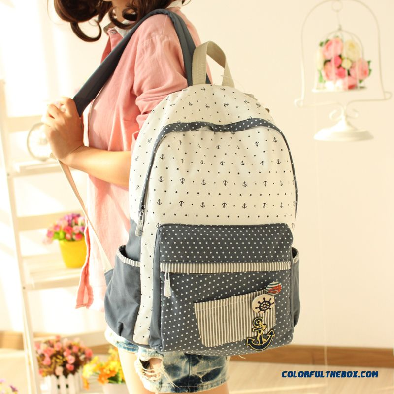 d4f34e69cf Girls School Bags Canvas Backpack Women Yong Printing Zipper Bags Free  Shipping ...