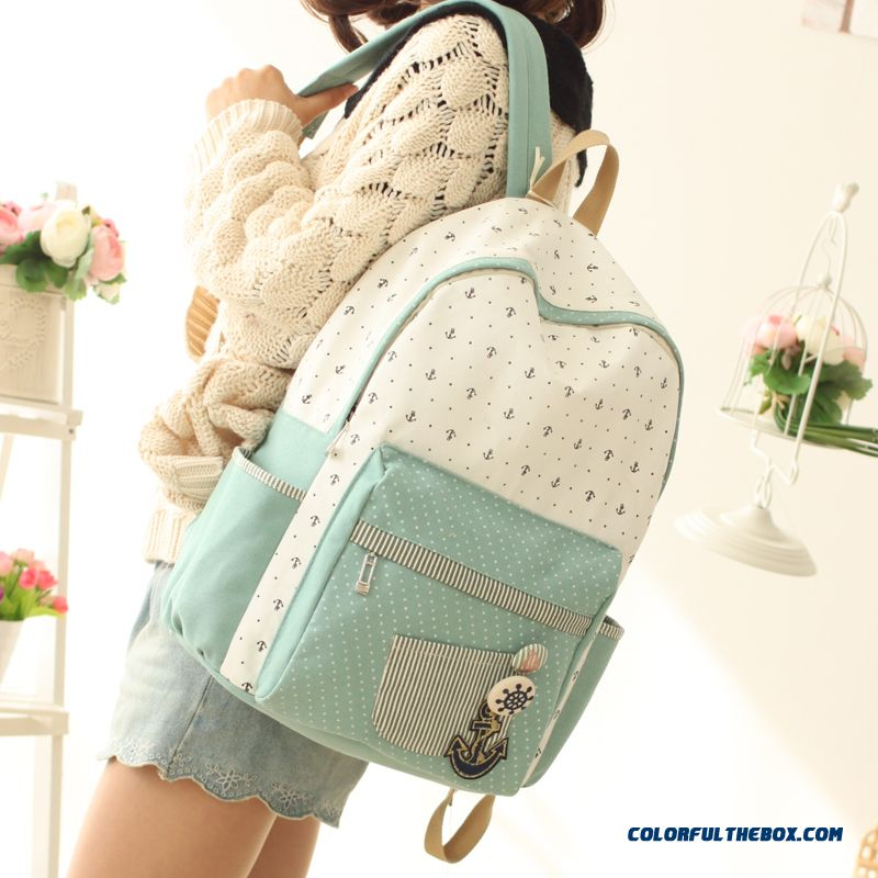 5dc9bd65fb ... Girls School Bags Canvas Backpack Women Yong Printing Zipper Bags Free  Shipping