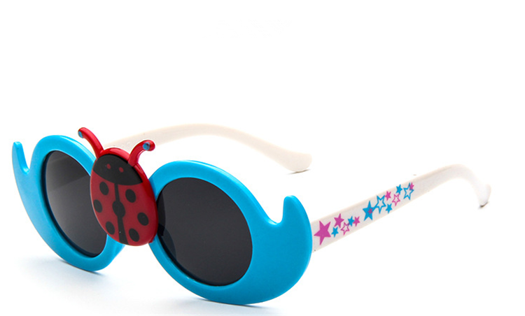 fbeec1260d ... Kids Prefer Cartoon Ladybird Glasses Sunglasses Uv Protection Boys   Accessories ...