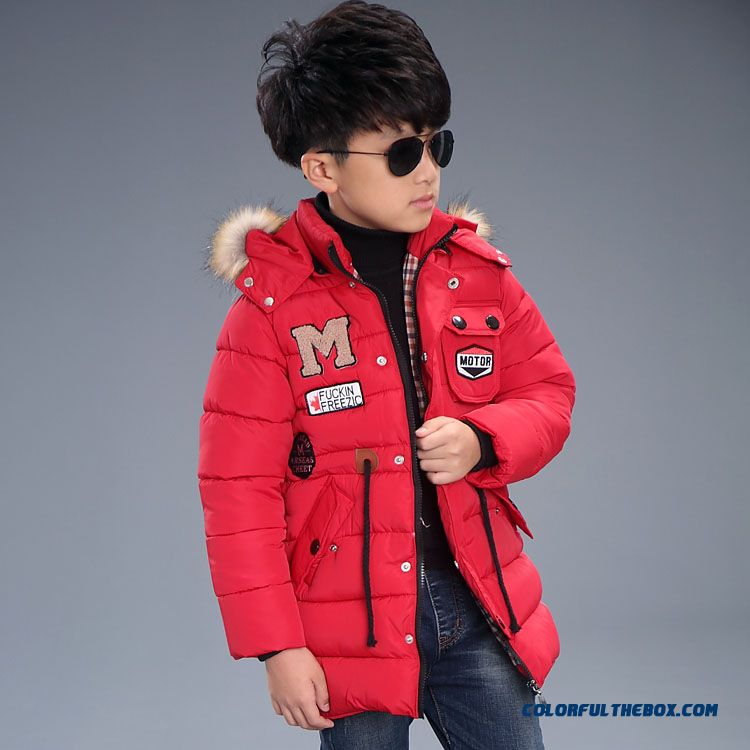 Kids Winter Essential Coats M Thick Coat Boy Cotton - Padded Clothes Children's Clothing