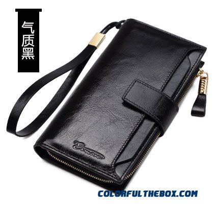 9d5b584f20bf9 ... Lady Women Simple Long Wallet Women Models Holding Genuine Leather  Wallets Hasp Thin Style Bags ...