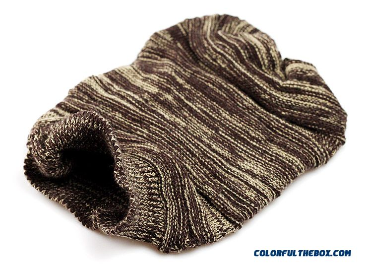 457a5653742 ... Large Folding Shuangpin Clip Color Rib Knitted Wool Cap Men Shopping   Skateboard  Accessories Hats ...