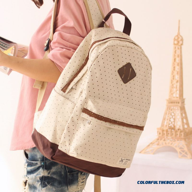 cfda80b81fcb ... Latest Fashion High School Students Schoolbags Casual Laptop Bag Lace  Purfle Women Backpack ...