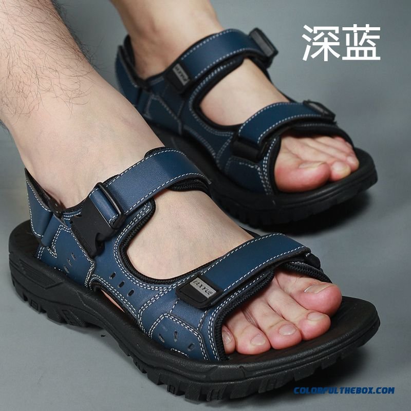 Men's Beach Shoes Summer Sandals New Large Size Outdoor Sports