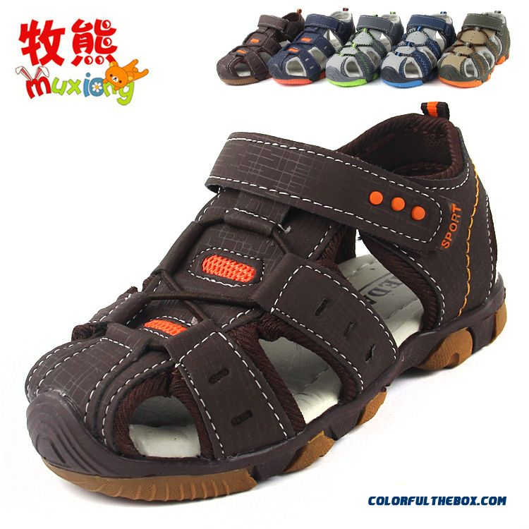 Cheap Mixed Colors Velcro Boy Child Baby Beach Shoes ...