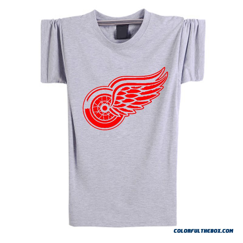 Cheap New Fashion Summer 2016 Detroit Red Wings T Shirt