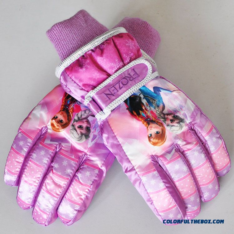 Christmas Gifts For 18 Year Old Boy: Cheap New Frozen Kids Girls Thick Warm Winter Ski Gloves