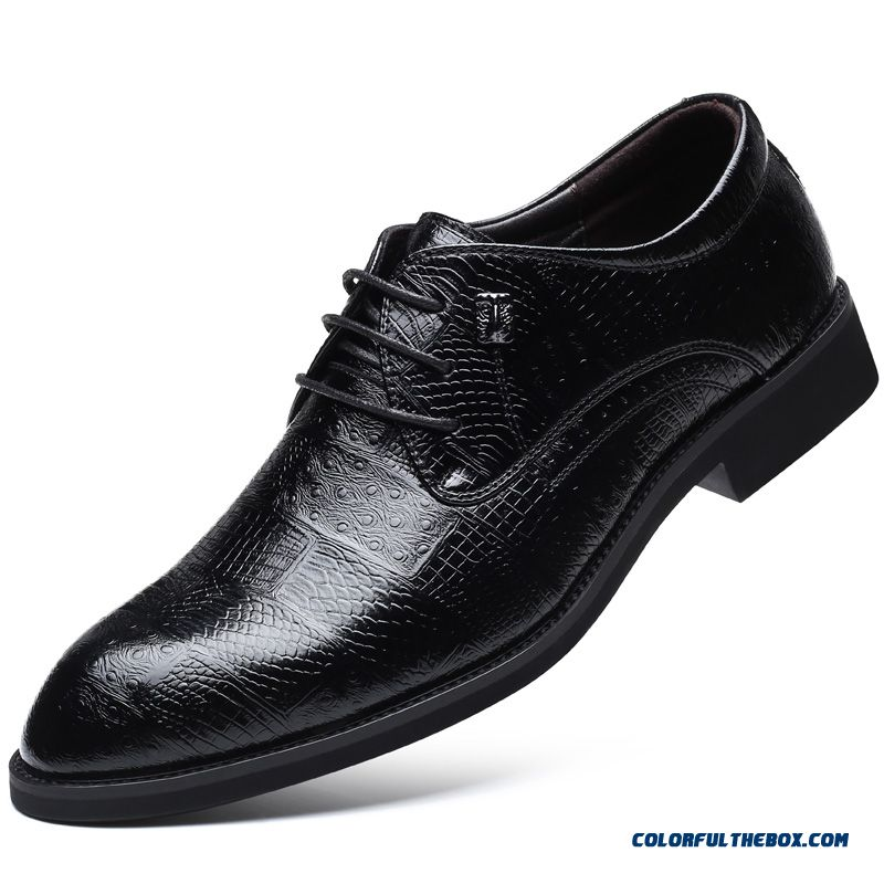 New Quality Microfiber Leather Men's Shoes Spring Soft Man Dress Shoes Extra Size 45 46 47 48 Point Toe Man Leather Shoes M527