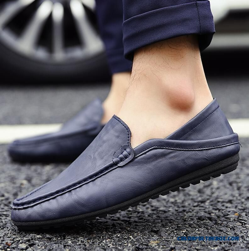 Cheap New Spring Summer Elegant Man Leather Loafers afdd9f19e4a0