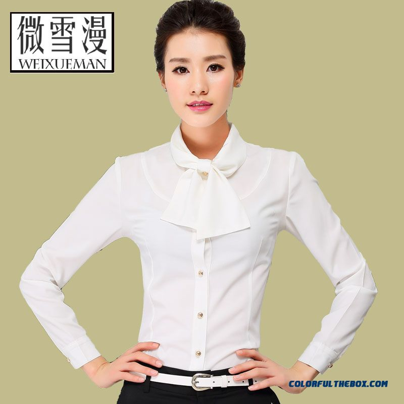0f3939ad6e7 ... New Thick Long-sleeved Large Size Women Shirt Slim Soft Blouses Top  Selling ...