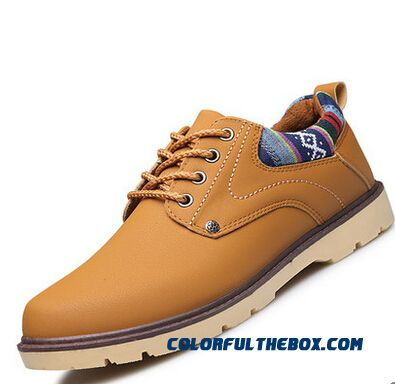 New Winter Oxford Work Tooling Chaussure Homme Men Shoes High Quality Leather Shoe Fashion Casual Mens Shoes