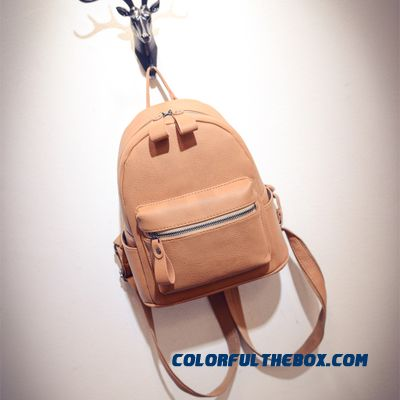 88325a17c407 Cheap Pu Simplicity College Style New Casual Mini Backpack Women ...