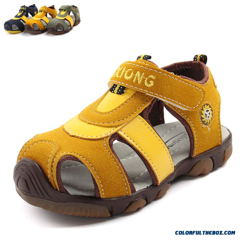 ... Special Clearance Boys  Sandals New Rubber Children s Kids Baby Sandals  ... 70983627cd23
