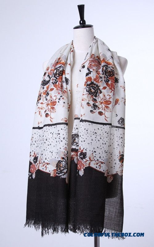Special Clearance Free Shipping Accessories Women Printing Wool Scarves Vogue