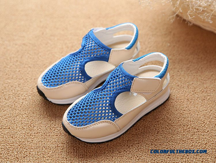 f290bae5fdf9 ... Spring And Summer Boys Kids Shoes Sport Sandals Girls Breathable  Student Casual Shoes