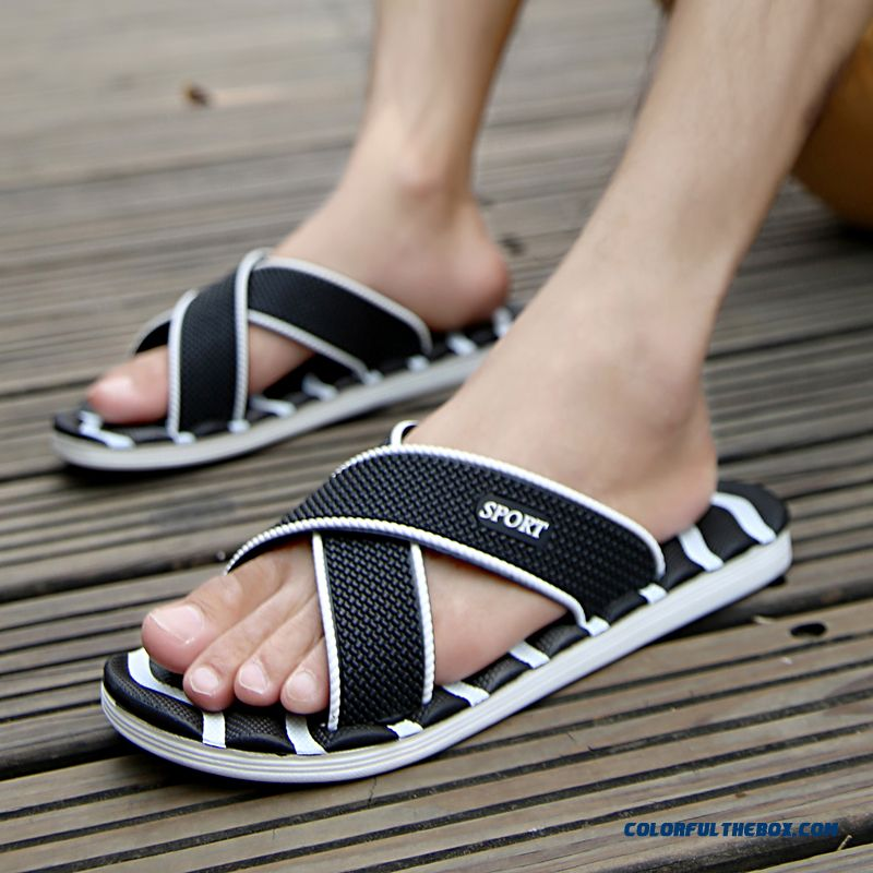 cb148d71a72c Cheap Summer New Wear Resistant Non-slip Slippers Home Shoes For Men Sale  Online