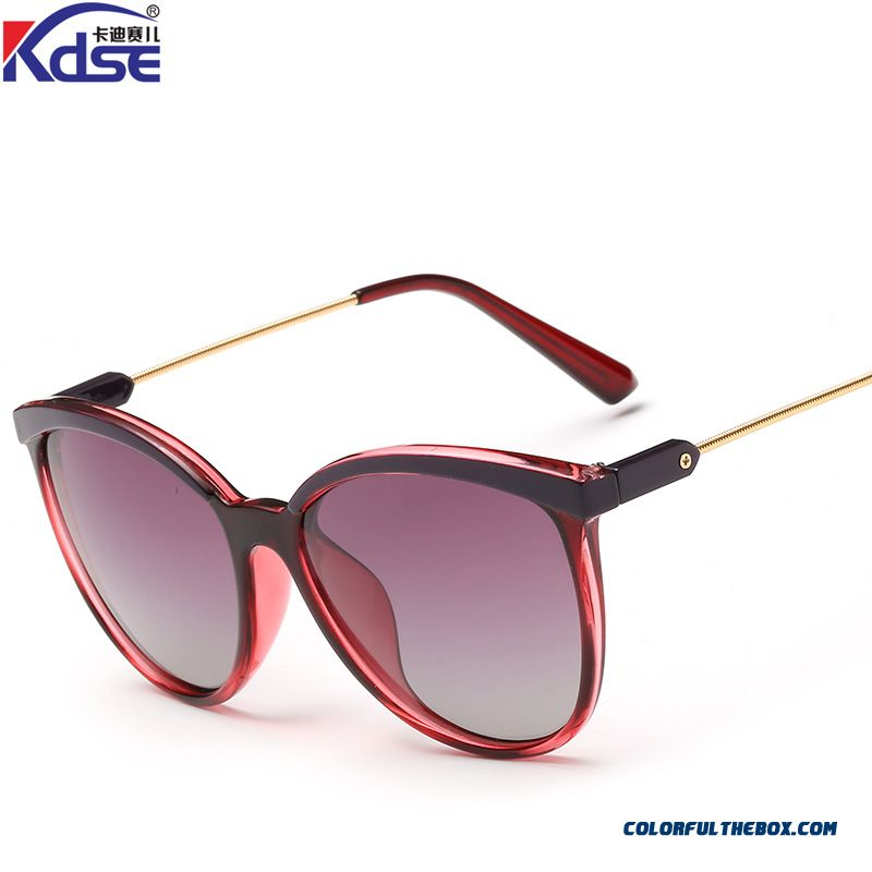 Vintage Round Frame Round Face Dark Glasses Spectacles Driving Chic Accessories For Women