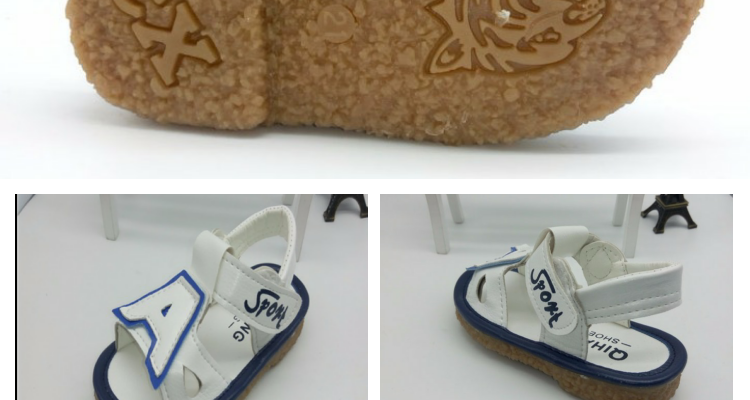 Beach Shoes Network Shoes Baby Boys And Girls 1-3 Years Old Delicate Shoes Sandals - detail images