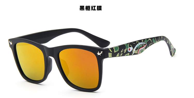 Boys And Girls Head Radiation Protection Sunglasses Personality Kids Accessories Sunglasses - detail images