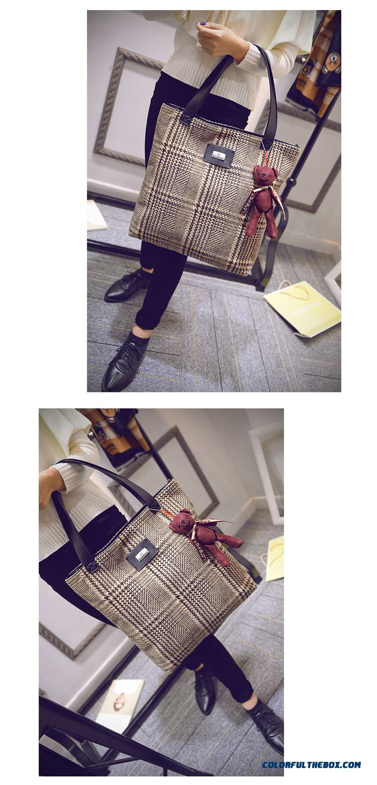 Chinese Original Women Bags High Capacity Art Style Retro Cloth Shoulder Bags - detail images