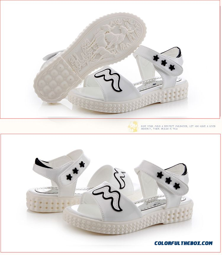 Exclusive Design Sales Parent-child Shoes Girls Summer Pretty Sandals Free Shipping Kids Shoes - detail images