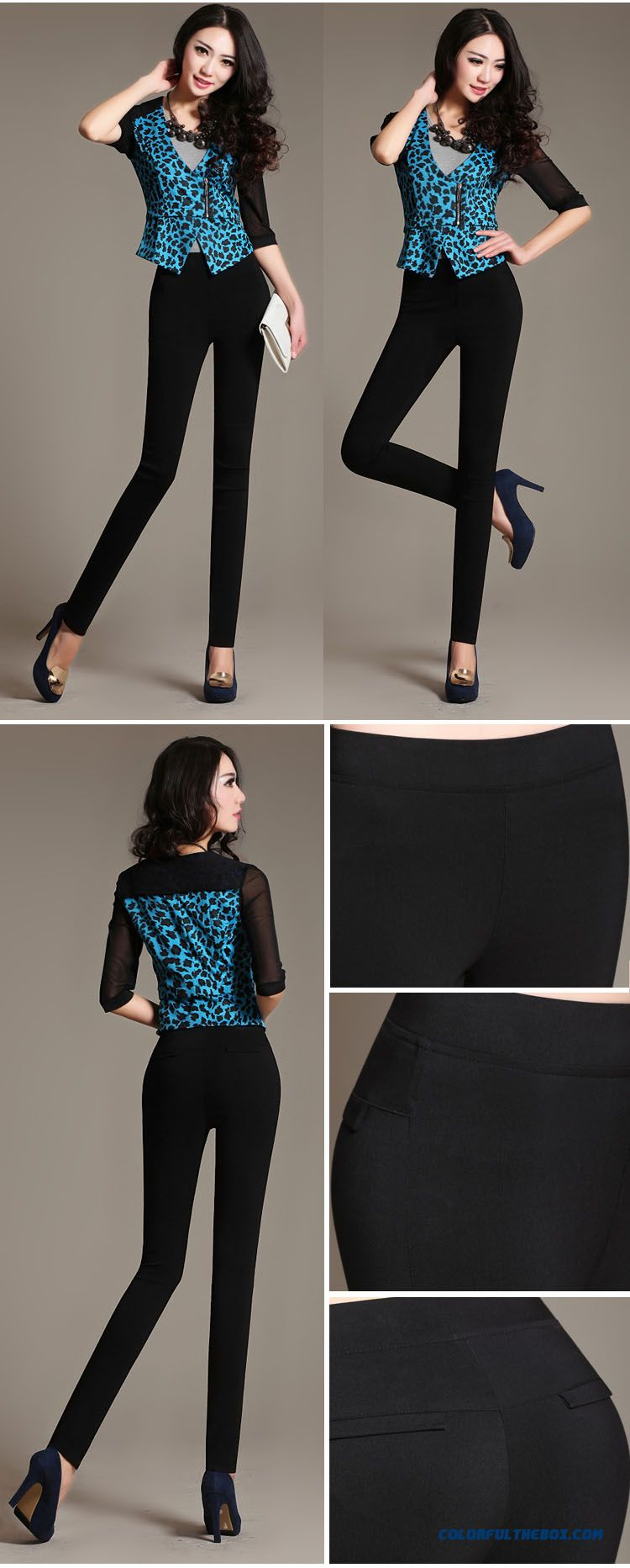 Cheap Fall Clothing New Arrival Elastic Waist Large Size