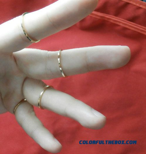 Fine Ring Gucci Womens Ornaments New Pattern Polishing Copper Women Jewelry Ring Fine Ring - detail images