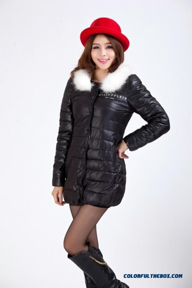 Free Shipping 2015 New Women'scoatslarge Down Cotton Jacket Specials - detail images