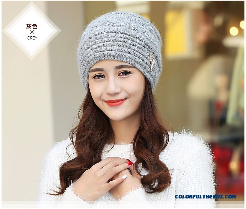 Free Shipping Women Accessories Double Ear Protection Warm Hat For The Elderly - detail images